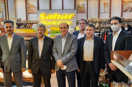 نشست مدیران بانک ملی ایران با برند نان سحر